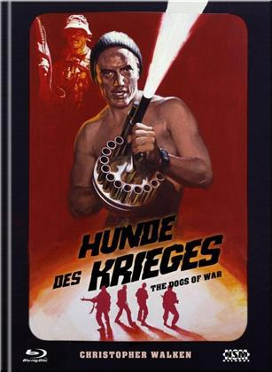 Hunde des Krieges (1980) (Cover F, Limited Collector's Edition, Mediabook, Blu-ray + DVD)