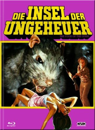 Die Insel der Ungeheuer (1976) (Cover B, Limited Collector's Edition, Mediabook, Blu-ray + DVD)