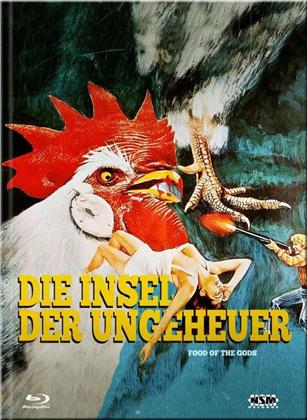 Die Insel der Ungeheuer (1976) (Cover D, Limited Collector's Edition, Mediabook, Blu-ray + DVD)