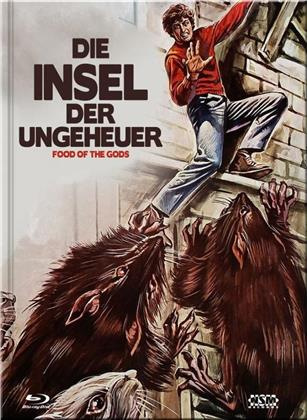 Die Insel der Ungeheuer (1976) (Cover E, Limited Collector's Edition, Mediabook, Blu-ray + DVD)