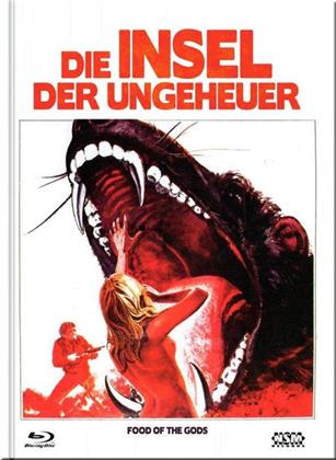 Die Insel der Ungeheuer (1976) (Cover F, Limited Collector's Edition, Mediabook, Blu-ray + DVD)