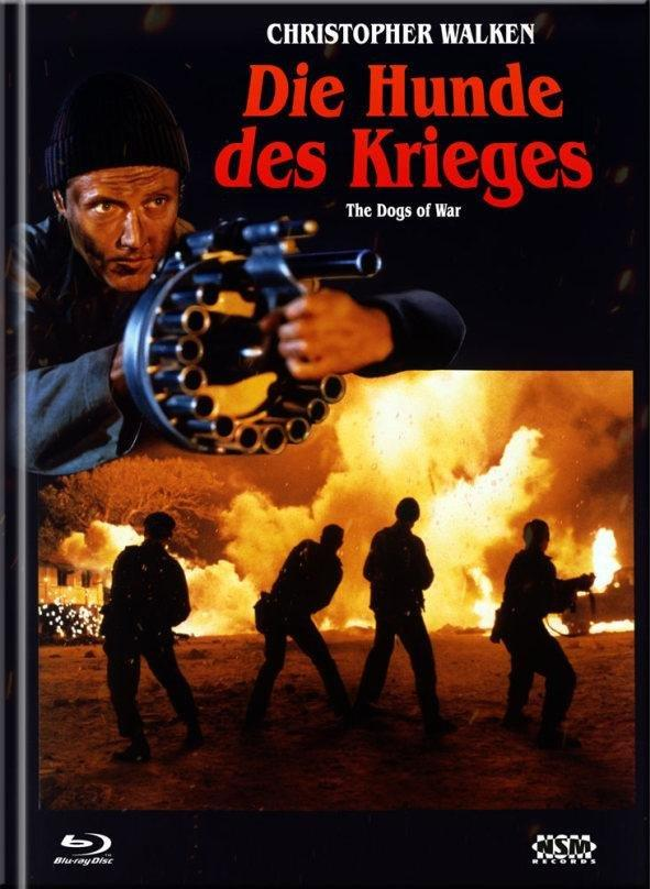 Die Hunde des Krieges (1980) (Cover A, Limited Collector's Edition, Mediabook, Blu-ray + DVD)