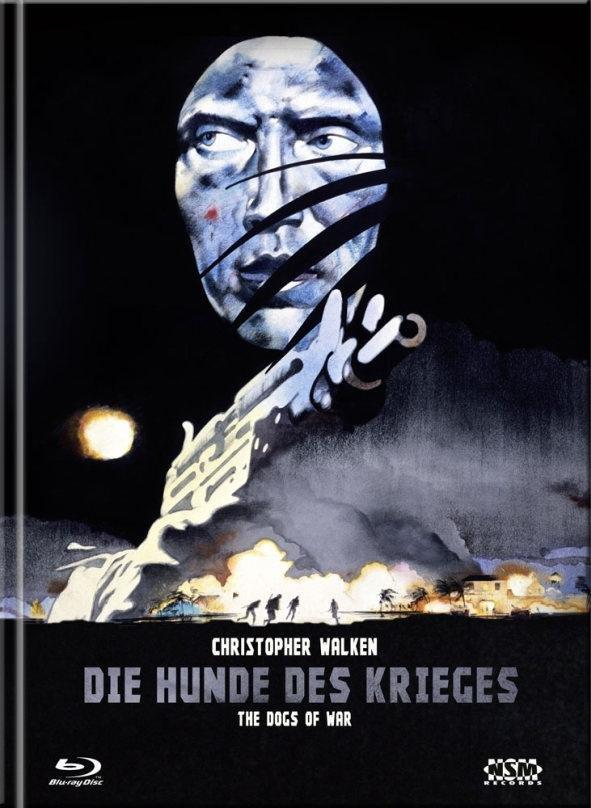 Die Hunde des Krieges (1980) (Cover B, Limited Collector's Edition, Mediabook, Blu-ray + DVD)