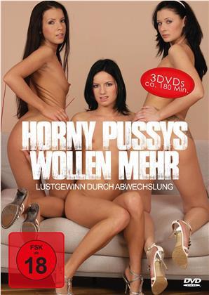 Horny Pussys wollen mehr - Lustgewinn durch Abwechslung (3 DVDs)