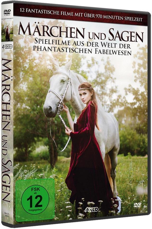 Märchen und Sagen - 12 Spielfilme aus der Welt der phantastischen Fabelwesen (4 DVDs)