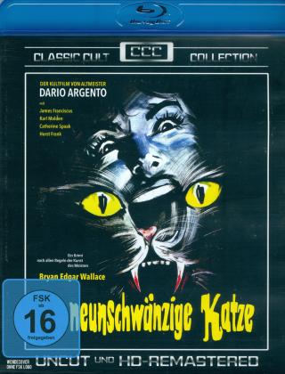 Die neunschwänzige Katze (1971) (Classic Cult Collection, HD-Remastered, Uncut)