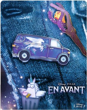 En Avant (2020) (Limited Edition, Steelbook, 2 Blu-rays)