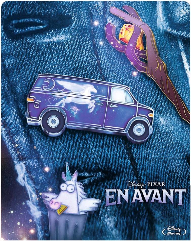 En Avant (2020) (Édition Limitée, Steelbook, 2 Blu-ray)