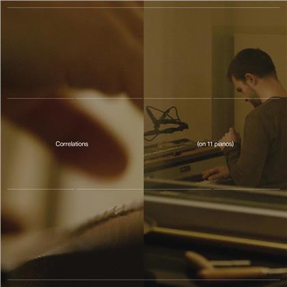 Carlos Cipa - Correlations (on 11 pianos) (LP)