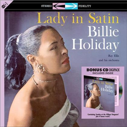 Billie Holiday - Lady In Satin (2020 Reissue, Groove Replica, + Bonustrack, LP + CD)