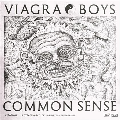 "Viagra Boys - Common Sense (Blue Vinyl, 12"" Maxi)"