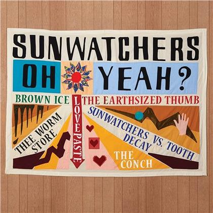 Sunwatchers - Oh Yeah? (Limited Edition, Brown Ice Vinyl, LP)