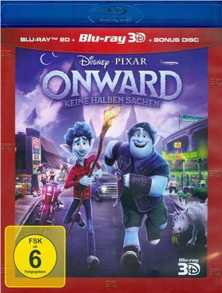 Onward - Keine halben Sachen (2020) (Blu-ray 3D + 2 Blu-rays)