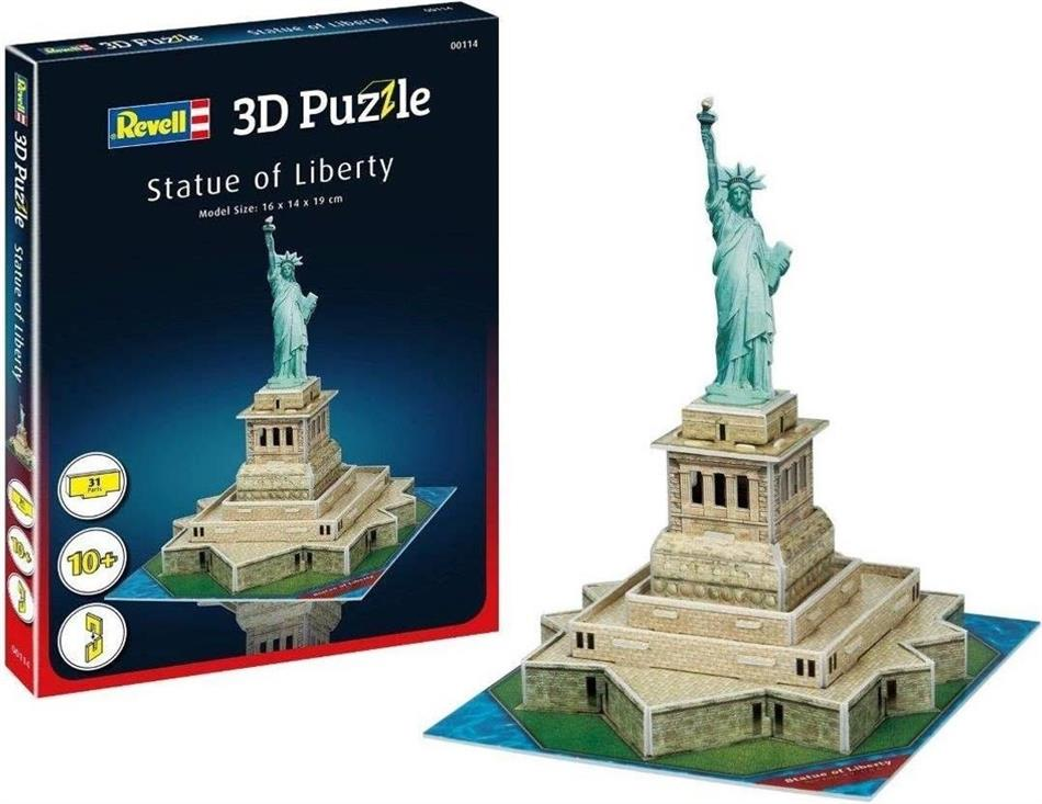 Revell Freiheitsstatue - 31 Teile 3D Puzzle
