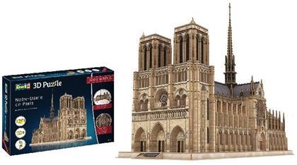 Revell Notre Dame de Paris - 293 Teile 3D Puzzle