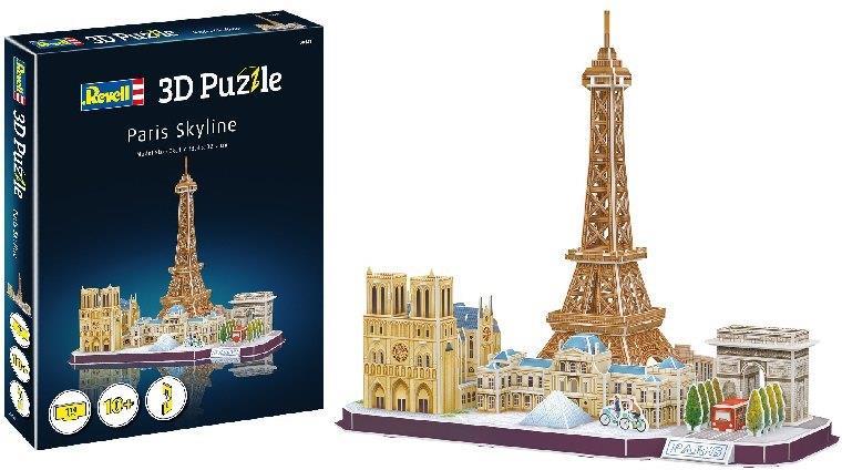 Revell Paris Skyline - 114 Teile 3D Puzzle