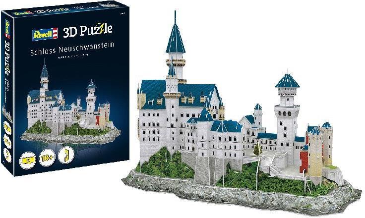 Revell Schloss Neuschwanstein - 121 Teile 3D Puzzle