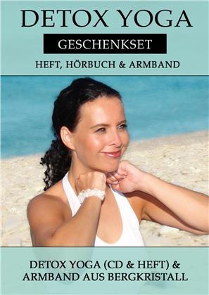 Canda - Detox Yoga Geschenkset:Heft, Hörbuch & Armband
