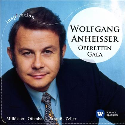 Wolfgang Anheisser, Willy Mattes, Karl Millöcker (1842-1899), Johann Strauss II (1825-1899) & Jacques Offenbach (1819-1880) - Operetten-Gala