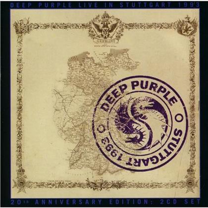 Deep Purple - Live In Stuttgart 1993 (2020 Reissue, Japan Edition, 2 CDs)