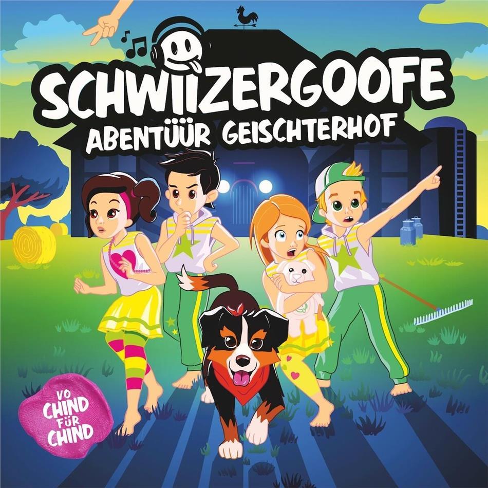 Schwiizergoofe - Abentüür Geischterhof (Hörspiel) (2 CDs)