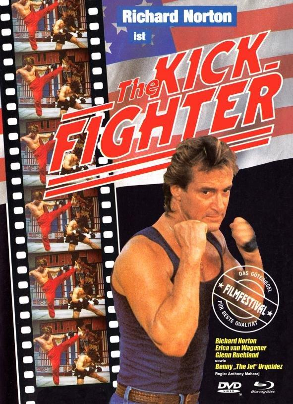 The Kick-Fighter (1989) (Cover A, Limited Edition, Mediabook, Blu-ray + DVD)