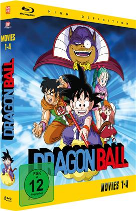 Dragonball - Movies (Gesamtausgabe, 2 Blu-rays)