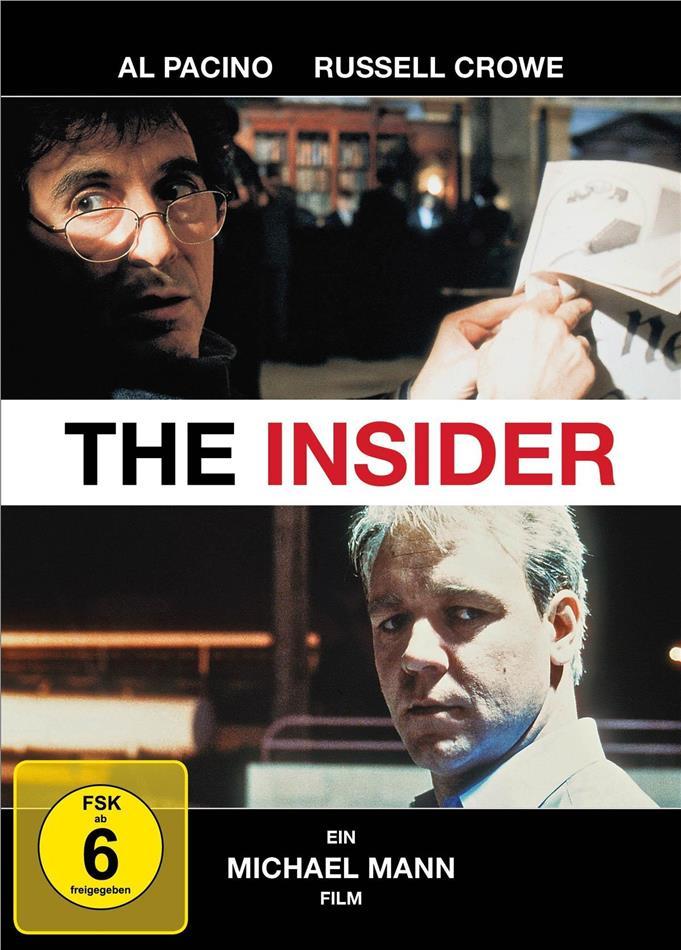 The Insider (1999) (Mediabook, Blu-ray + DVD)