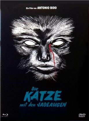 Die Katze mit den Jadeaugen (1977) (Eurocult Collection, Cover E, Limited Edition, Mediabook, Uncut, Blu-ray + DVD)