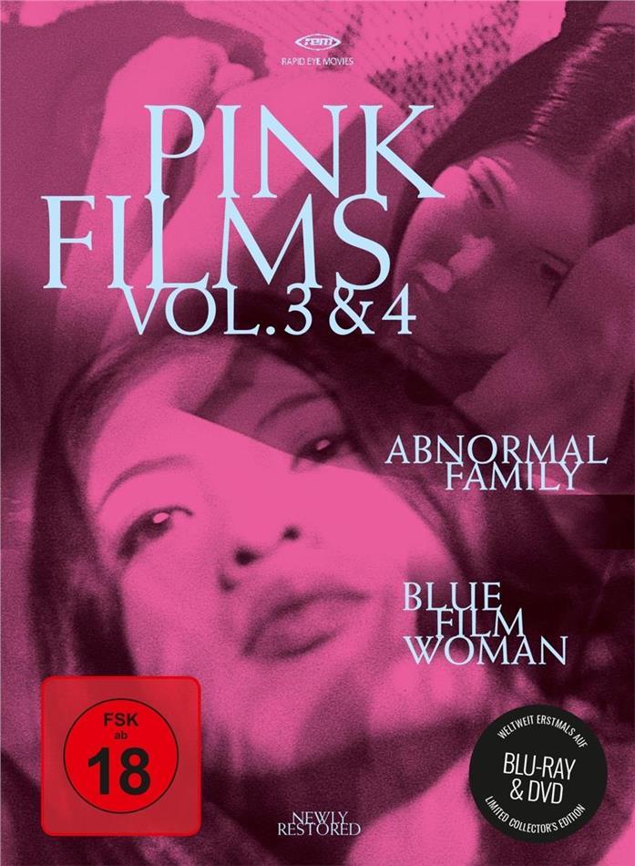 Pink Films Vol. 3 & 4 - Abnormal Family / Blue Film Woman (Blu-ray + DVD)