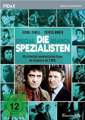 Die Spezialisten - Special Branch - Alle 8 deutsch synchronisierten Folgen der erfolgreichen Krimiserie (Pidax Serien-Klassiker, 2 DVDs)