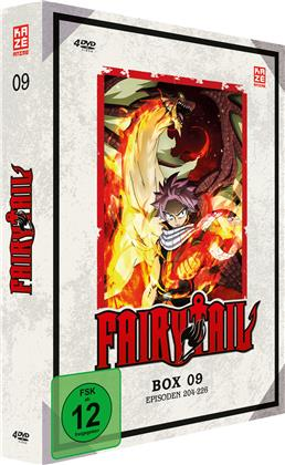 Fairy Tail - Box 9 - Episoden 204-226 (4 DVDs)