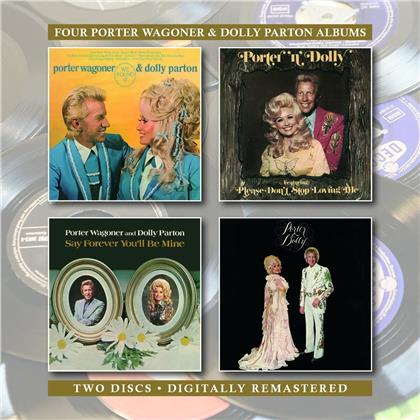 Dolly Parton & Porter Wagoner - We Found It / Porter N Dolly / Say Forever You'll
