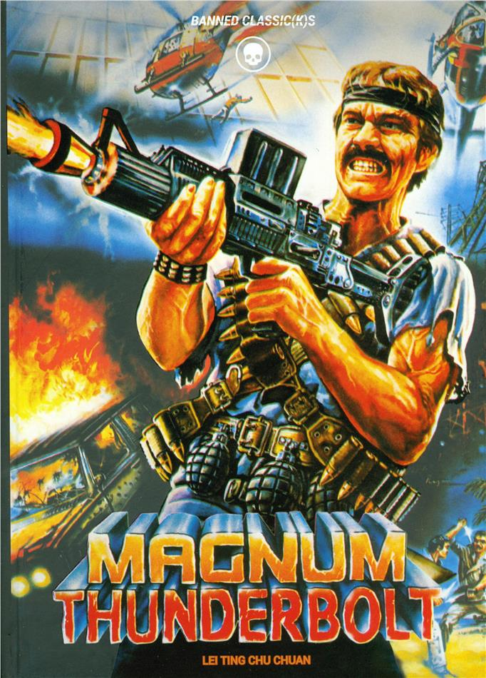 Magnum Thunderbolt (1985) (Cover A, Edizione Limitata, Mediabook, Blu-ray + DVD)