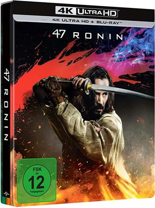 47 Ronin (2013) (Limited Edition, Steelbook, 4K Ultra HD + Blu-ray)