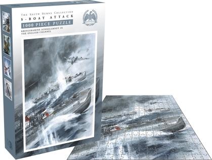 Bellica - S-Boat Attack (1000 Piece Jigsaw Puzzle)
