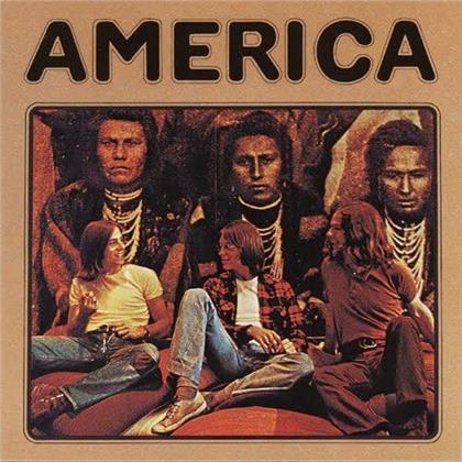 America - --- (2020 Reissue, Music On Vinyl, Limited Edition, Gold Colored Vinyl, LP)