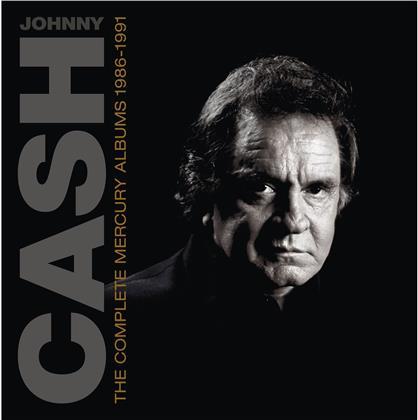 Johnny Cash - Complete Mercury Albums (1986-1991) (Coffret)