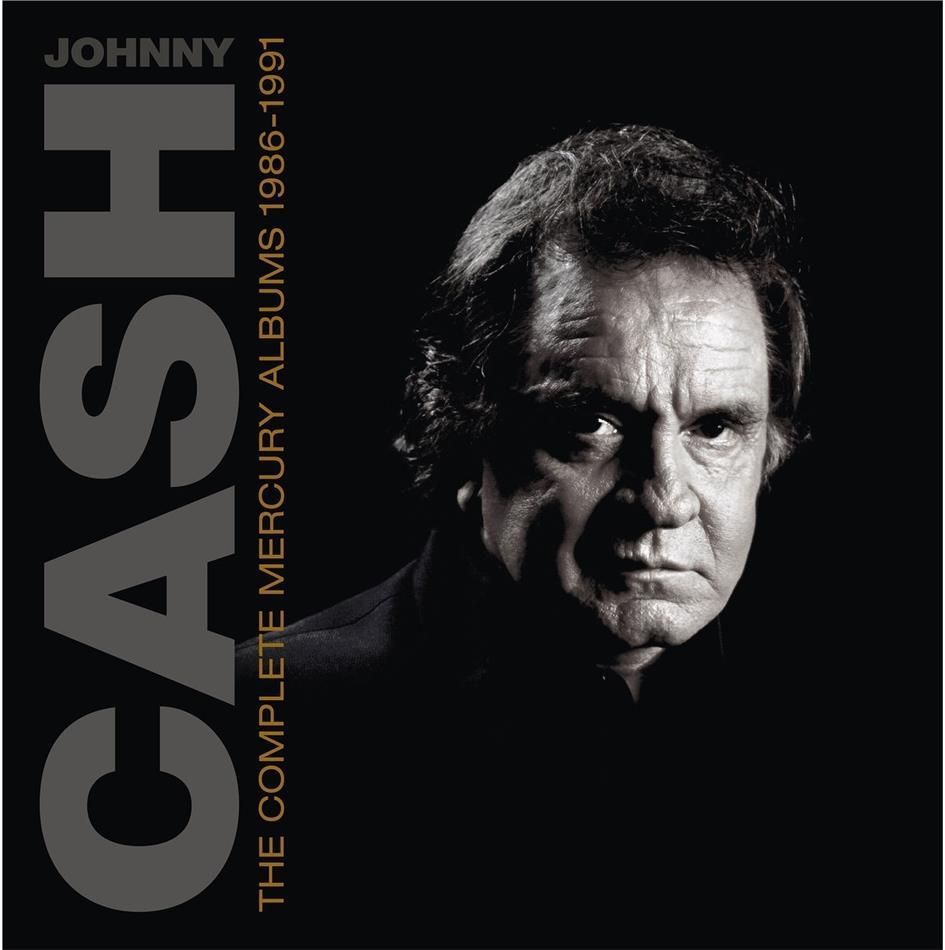 Johnny Cash - Complete Mercury Albums (1986-1991) (Box, 7 CDs)