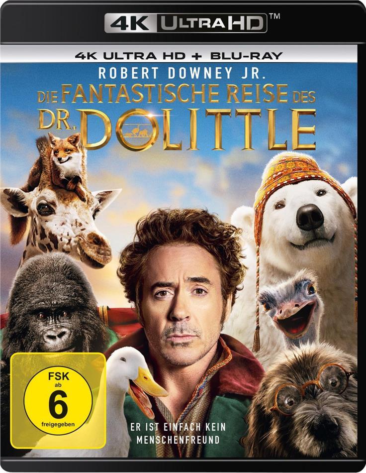 Die fantastische Reise des Dr. Dolittle (2020) (4K Ultra HD + Blu-ray)
