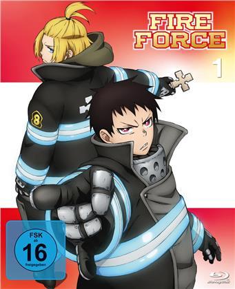 Fire Force - Staffel 1 - Vol. 1 (2 Blu-rays)