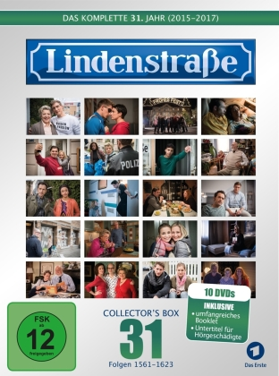 Lindenstrasse - Vol. 31 (Collector's Box, Limited Edition, 10 DVDs)