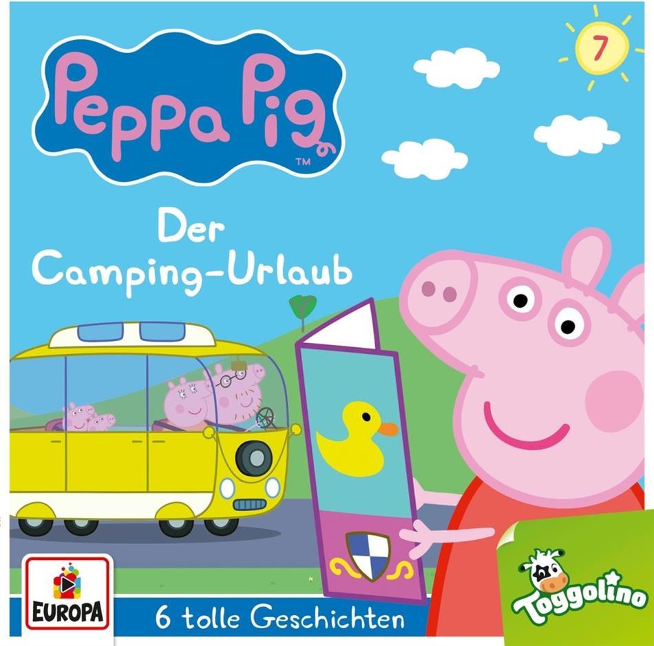 Peppa Pig Hörspiele - 007/Der Camping-Urlaub (und 5 weitere Geschichten)