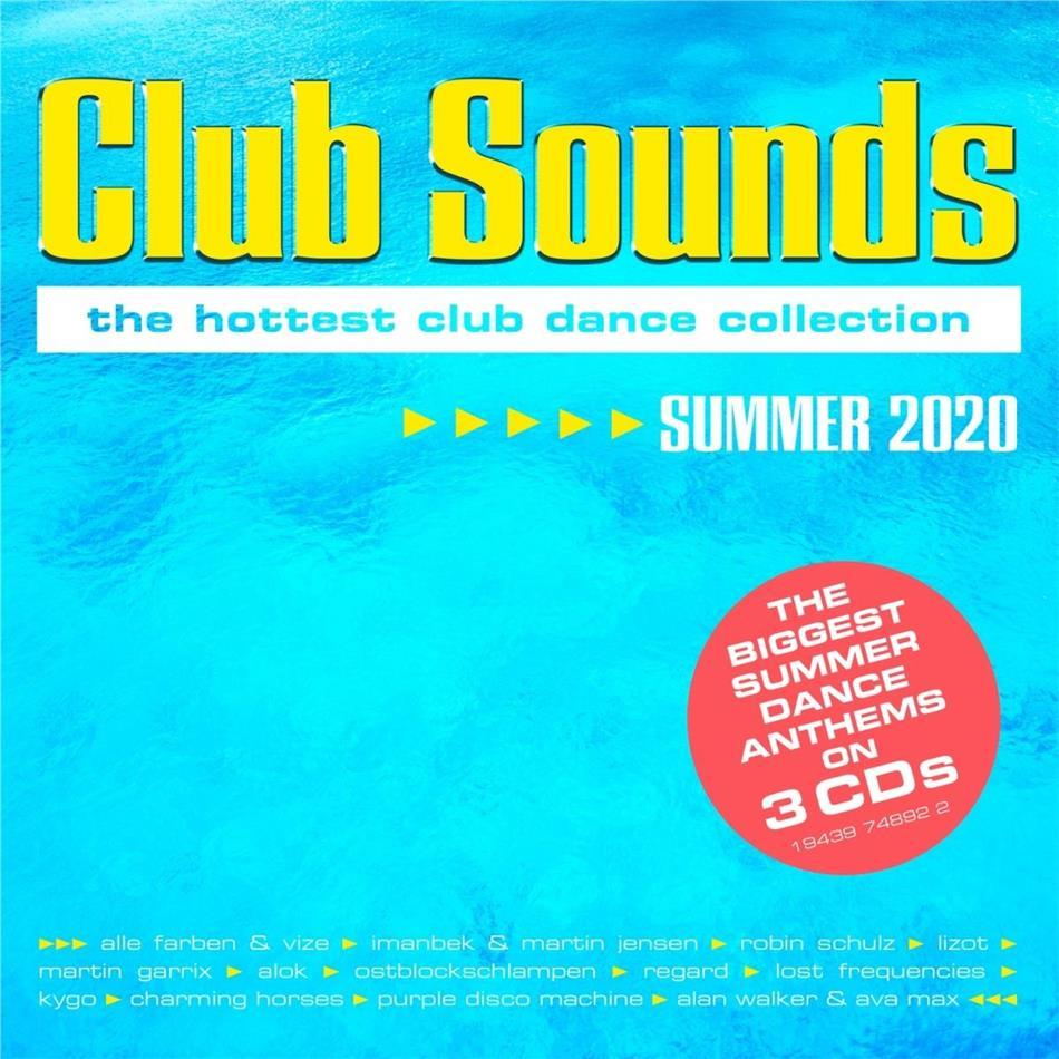 Club Sounds Summer 2020 (3 CDs)