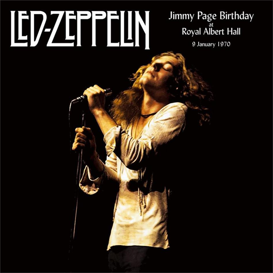 Led Zeppelin - Jimmy Page Birthday At The Royal Albert Hall 9 January 1970 (2 LPs)