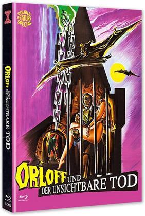 Orloff und der unsichtbare Tod (1970) (Cover A, Eurocult Collection, Edizione Limitata, Mediabook, Uncut, Blu-ray + DVD)