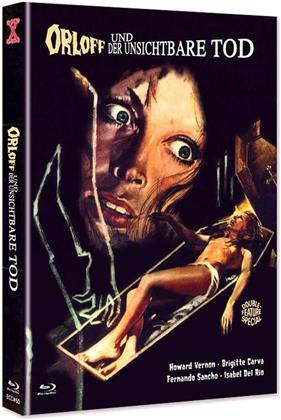Orloff und der unsichtbare Tod (1970) (Cover C, Eurocult Collection, Limited Edition, Mediabook, Uncut, Blu-ray + DVD)
