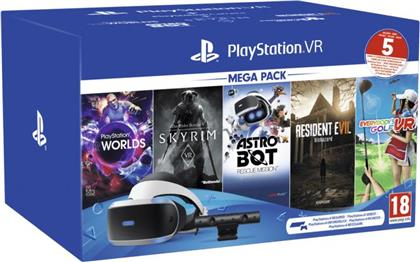 PS4 VR Mega Pack 2 + Kamera + 5 Games