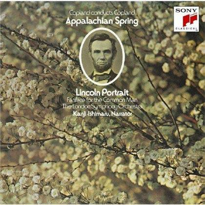 Kanji Ishimaru, Aaron Copland (1900-1990), Aaron Copland (1900-1990) & London Symphony Orchesta - Copland Conducts Copland - Lincoln Portrtait (Japan Edition)