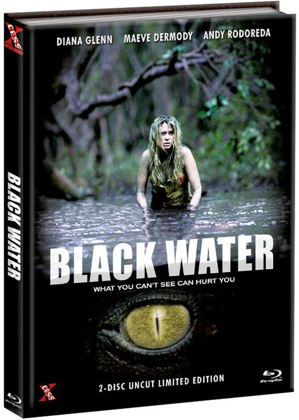 Black Water (2007) (Cover A, Limited Edition, Mediabook, Uncut, Blu-ray + DVD)